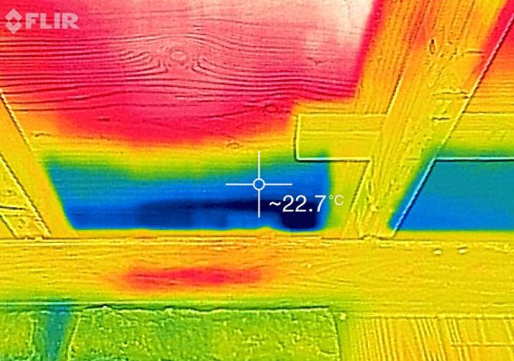 雨漏り赤外線調査